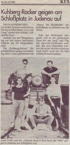 1996 Ankuendigung Judenau Noen Juni