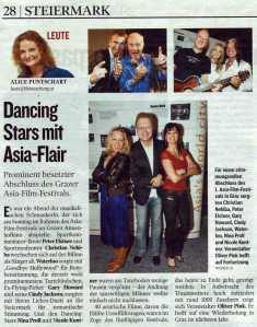 2007 Asia Film Graz Kleine Zeitung April