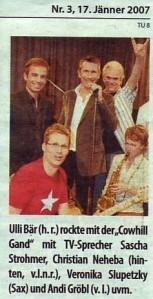 2007 Baeer Sieghartskirchen Nachlese Bezirksblatt Jaenner